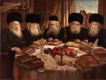 The Gerer Rabbi`s #10002  (Vincent Louis) - Rabbis