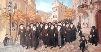 Greeting Moshiach #1321 (Carl Braude) - Rabbis