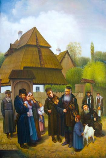 Happy moment in town (Eduard Gurevich) - Simcha/ Happiness