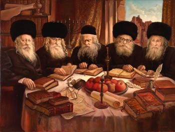 Gur Dynasty2 #3627 (Vincent Louis) - Rabbis