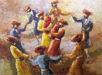 Simchas Torah  (M. Rozenvain) - Abstract/ Modern Art