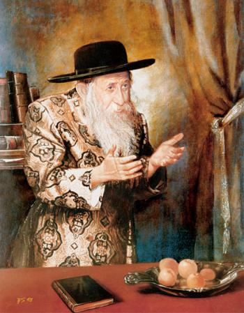 Tosher Rebbe #5861  (Stephan Zanger) - Rabbis