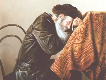 Confession (Tachanun) #5868   (Stephan Zanger) - Jewish Life