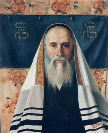To be a Jew  #5869  (Stephan Zanger after Isidor Kaufman) - Shabbos and Holidays