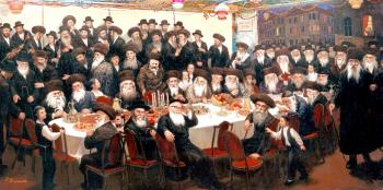 In the Succah #7511 (Carl Braude) - Rabbis