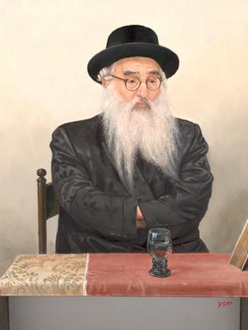Vishnitzer Rebbe #7535 (Stephan Zanger) - Rabbis