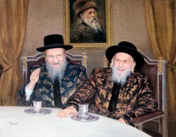 Bobover Rebbes #9218  (Carl Braude) - Rabbis
