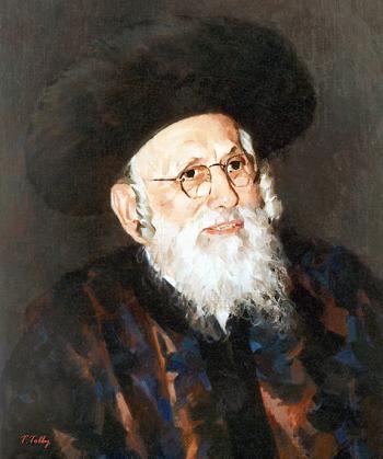 Bobover Rebbe #0001  (Theodore Tolby) - Rabbis
