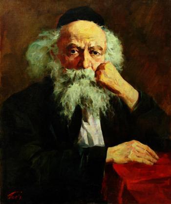 Rogachover Goan  #4241  (Theodor Tolby) - Rabbis