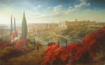 Walk to the Bais Hamikdash (Dennis Bachuss) - Jerusalem