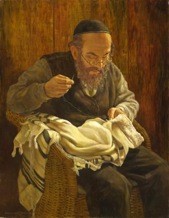 Talit #BD1027  (Boris Dubrov) - Jewish Life