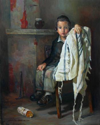 The Boy #BD1055  (Boris Dubrov) - Jewish Life