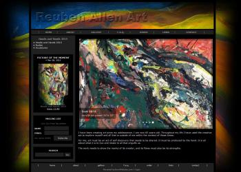 Premium Artist�s Website - Allen Ruben - Websites for Artists, Photographers, Galleries