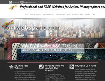 Art web space - Websites for Artists, Photographers, Galleries