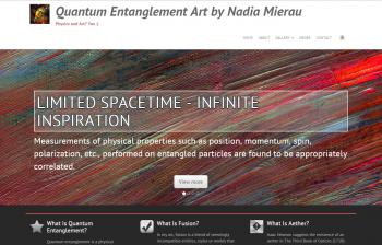 Premium Responsive Artist's Website - Nadia - Websites for Artists, Photographers, Galleries