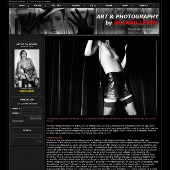 Premium Vintage Photography Website - Websites for Artists, Photographers, Galleries