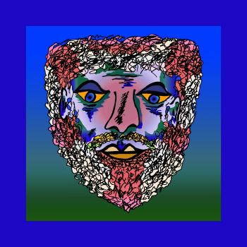 Bearded Man - color 2 - Fred Kelly