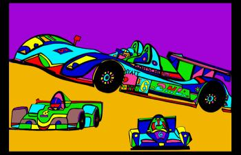 Indi Race Car (car 3 - color 2)