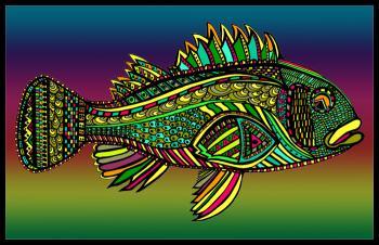 Black Bass (Fish10- Color 1)