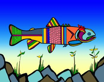 Herring (Fish 2 color 2) - Fred Kelly