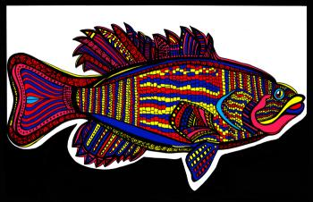 Small Mouth Bass (Fish 3 - color 2)