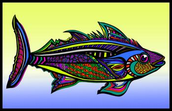 Tuna (Fish 5 - color 3) - Fred Kelly