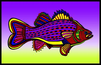 Porgy (Fish 6 color 1) - Fred Kelly