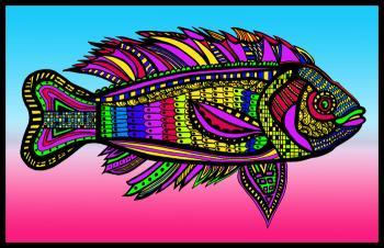 Blackfish (Fish 8 - color 2)
