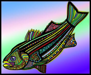 Striped Bass (Fish9-color 1)