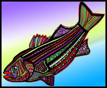 Striped Bass (Fish9-color 2)