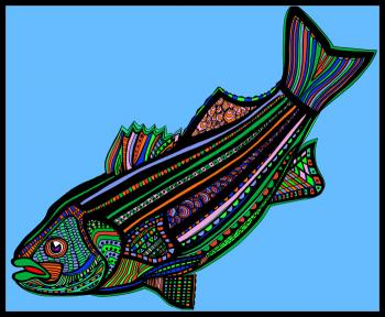 Striped Bass (Fish9- Color6)