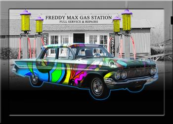 FREDDY MAX GAS STATION - Fred Kelly