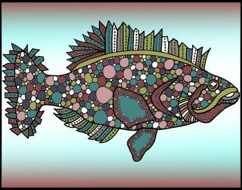 Flounder (KFish 1 - color 1)