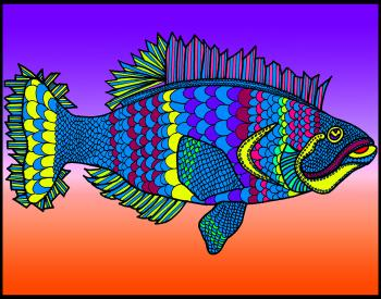 Flounder (KFish 2 - color 3)