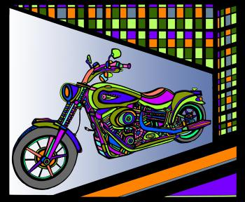 Motorcycle 1- Color 2