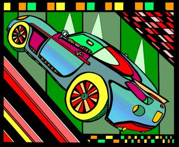 Sports Car- Color 1