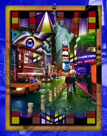 Times Square-color-2 - Fred Kelly