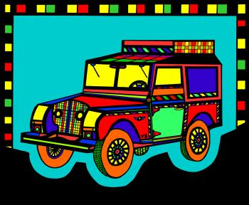 Safari Truck 2- Color 1 - Fred Kelly