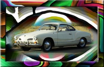 Vw Ghia 777 888  - Fred Kelly