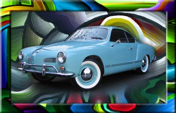 Vw Ghia 777  - Fred Kelly