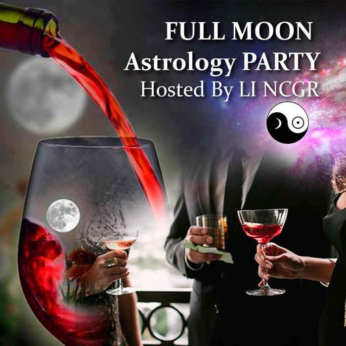 "July 8, 2017 -- 6 pm --""Meet the Astrologers"" - Full Moon Roof Top Cocktail Party and a Fundraiser."