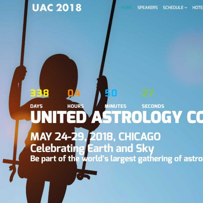 UNITED ASTROLOGY CONFERENCE MAY 24-29, 2018 in Chicago