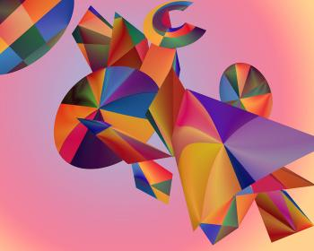 Digital Painting/ Digital Art...COLOR CUBISM - Click to view