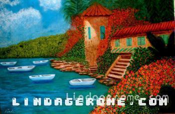 A Caribbean Island - Linda Gerome