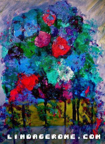 Splash of Color - Linda Gerome