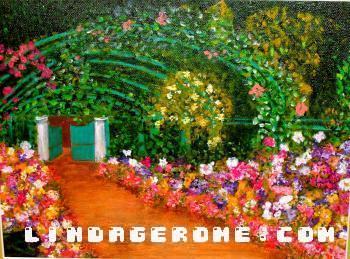 Botanical Garden #3 - Linda Gerome