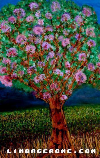 Cherry Blossom - Linda Gerome