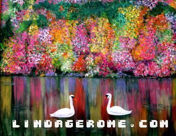 Swans - Linda Gerome