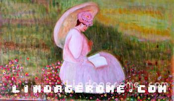 Monet Lady - Linda Gerome