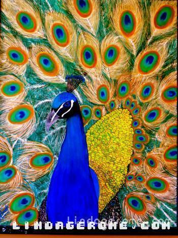 Peacock - Linda Gerome